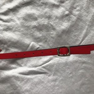 Accessories - Reversible black and red belt
